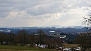 Foto Aussicht von Panoramaweg