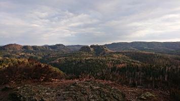 Foto Aussicht vom Großstein