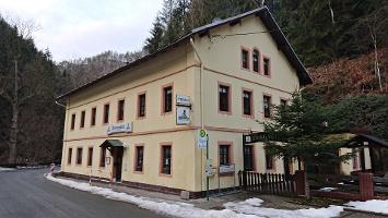 "Foto Gasthaus ""Felsenmühle"" im Kirnitzschtal"