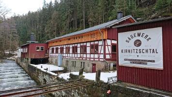 Foto Sägewerk im Kirnitzschtal