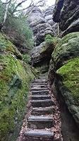 Foto Aufstieg zum Kuhstall