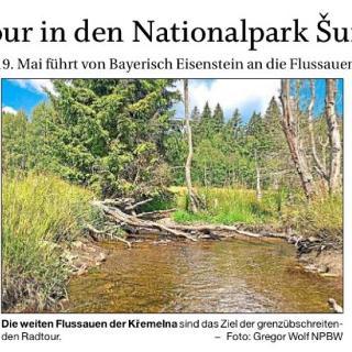 Radtour in den Nationpark Sumava am 19.05.2019