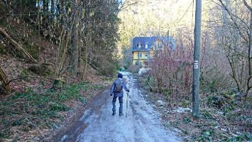 Foto Auf dem Polenztalweg