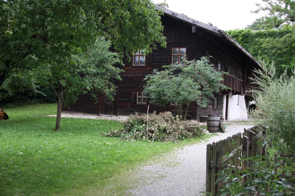 Das Lohmannhaus vom Museum Starnberger See. (Matthias Stiel)