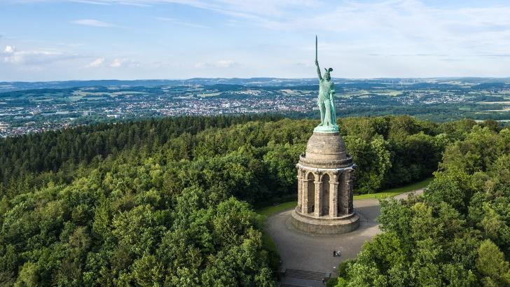 Das Hermannsdenkmal bei Detmold
