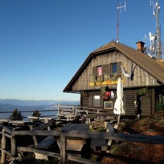 Hut on Dobrča