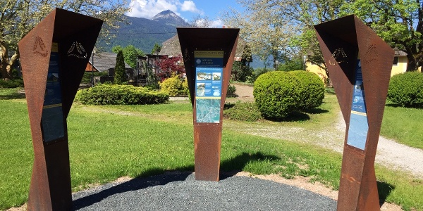 Alpe-Adria-Trail Infopoint Nötsch