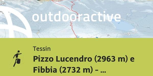 Sci alpinismo in Tessin: Pizzo Lucendro (2963 m) e Fibbia (2732 m) - Skitour - 25.5.2017