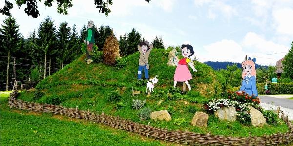 Märchenwiese am Weg