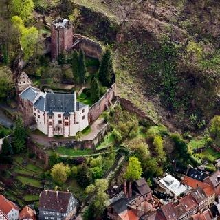 Mildenburg von oben