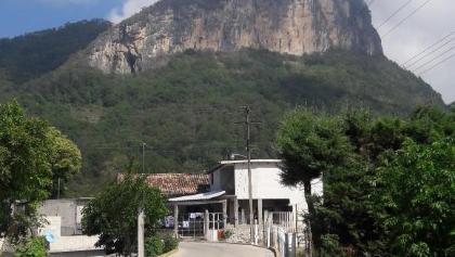 Blick auf den Cerro Cabezón