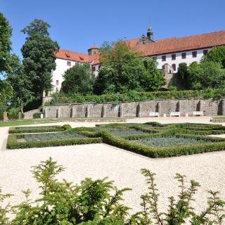 Knotengarten am Bad Iburger Schloß