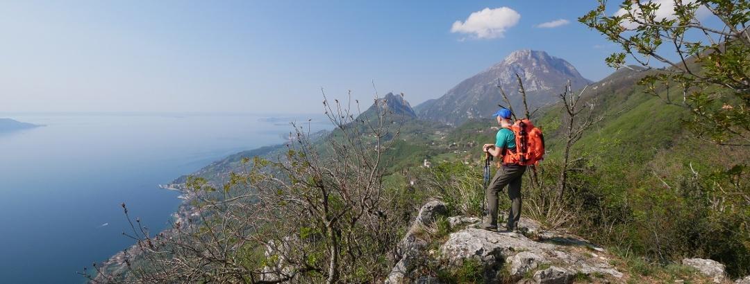 Enjoyable view over Lake Garda
