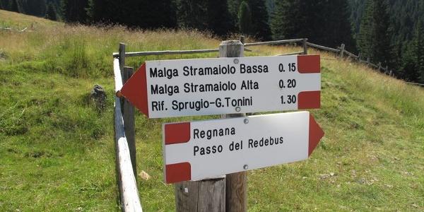 Malga Stramaiolo - Rifugio Tonini
