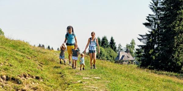 Familienwandern am Bödele