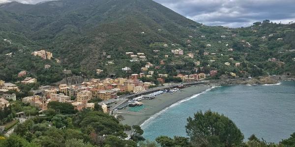 View to Bonassola