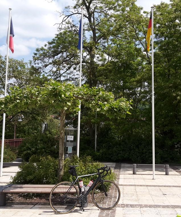 Freundschaftsbrücke in Großblittersdorf/Kleinblittersdorf
