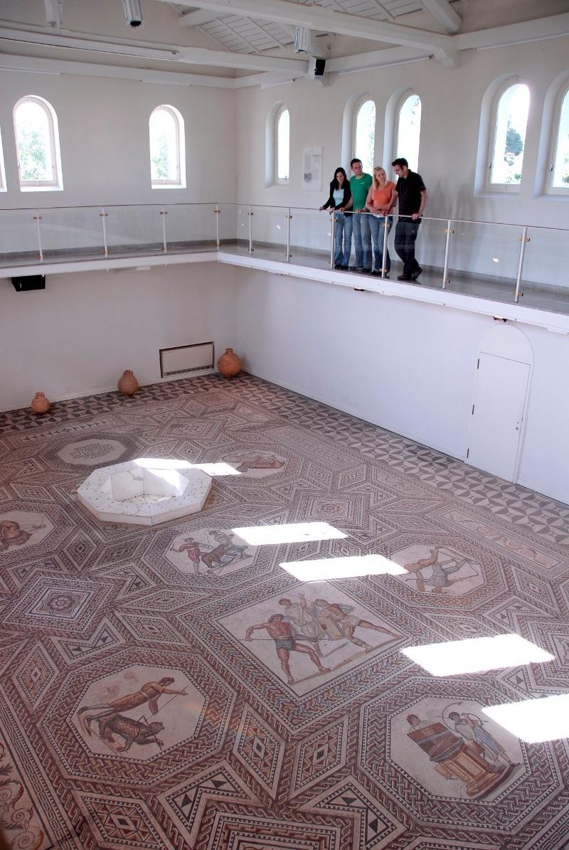 Foto: Römisches Mosaik Nennig