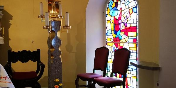 Kirche Kloster Repnje Innenansicht