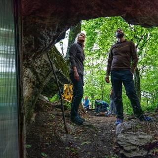 A Cserepes-kői barlangszállás