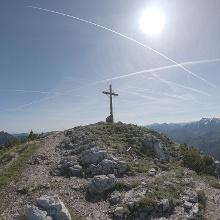 Roßstein Gipfelkreuz