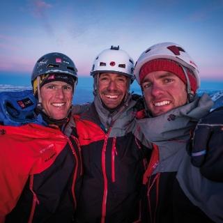 On the top of Cerro Stanhardt