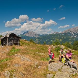 Wandern Obergailer Berg