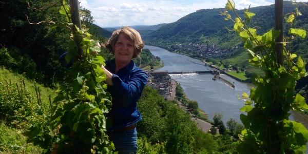 Kultur- und Weinbotschafterin Mosel Irmgard Spreier