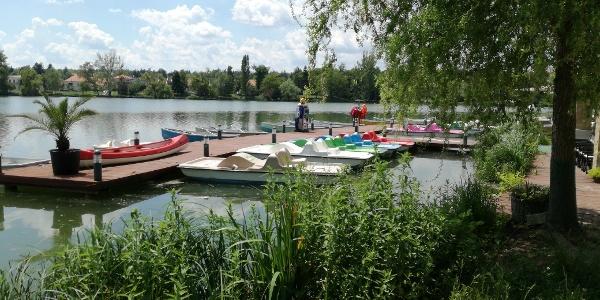 Csónakázó-tó, Szombathely - Csónakok és vízibiciklik