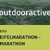 Trailrunning-Strecke in der Eifel: EIFELMARATHON - MARATHON