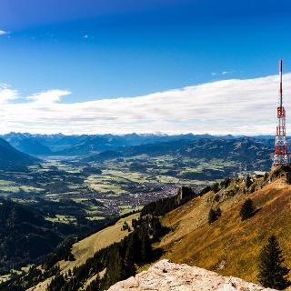 Peak of the Grünten