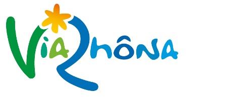 Logo ViaRhôna - A cycling route alongside the river Rhône