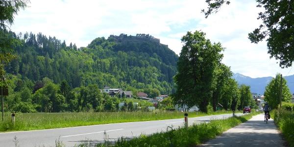 Richtung St.Andrä, Burgruine Landkorn