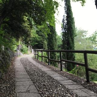 Weg von Riva zur Bastione