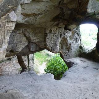 Ehemalige Höhlenwohnung
