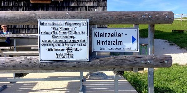 Internationaler Weitwanderweg I26 Via Slavorum: von Polen, Tschechien, Österreich über die Reisalpe bis Italien
