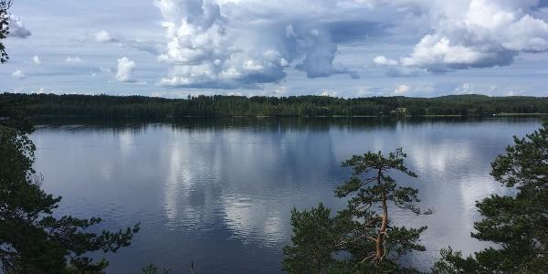 Vilkaharju nature trail, Saimaa Geopark site  Vilkaharju esker terrain