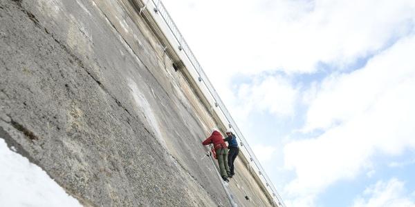 Staumauer Klettersteig