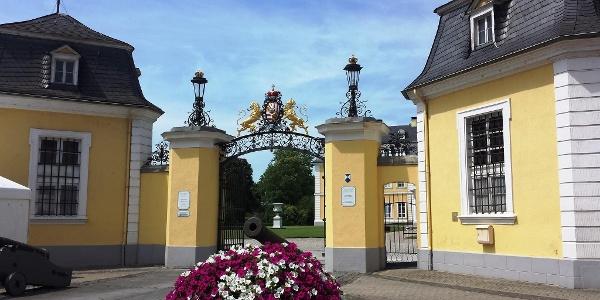 Schloss Neuwied Eingang