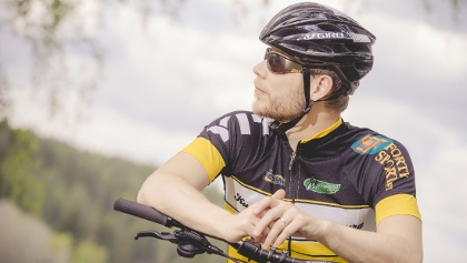 Mountain biking in Kuopio