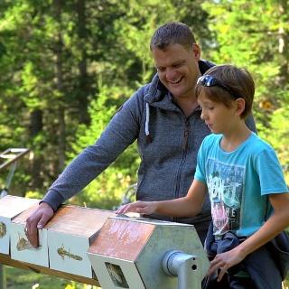 Arlenzauberweg - Der Weg für Familien