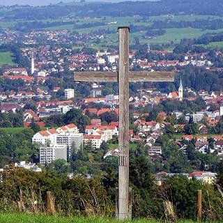 Gipfelkreuz Mariaberg (Kempten)