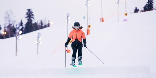 Intermediate Ski Class at Vuokatti Slopes