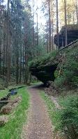 Foto Weg durch durch das Weißbachtal