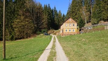 Foto Weg durch das Kirnitzschtal
