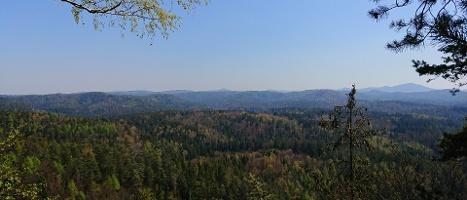 Foto Aussicht vom Aussichtspunkt Grünstellig
