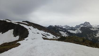 Blick zu Kreudmandl und Steinmandl