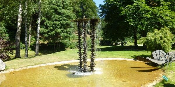 Garten der Kunstschmiede und Galerie Klute