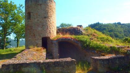 Burgruine Naumburg in der Vitaltour Bärenroute