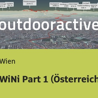 Fernwanderweg in Wien: WiNi Part 1 (Österreich)
